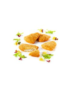 Sejfilé tempurapanerad förstekt MSC 100-130g, 65% fiskandel 5kg/kart