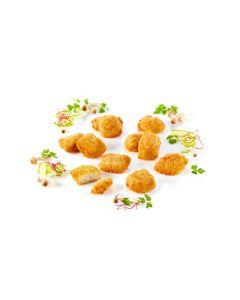 Fish Nuggets sprödpanerad förstekt MSC 21-31g, 65% fiskandel 3kg