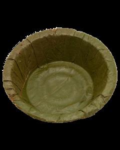Leafy bowl 13 cm 100% BIODEGRADABLE. ( ENGÅNGSTALLRIK )