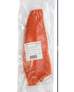 Norsk Regnbågs laxfile helsida 0,8-1,6kg st  (fryst, vacuumpackad)